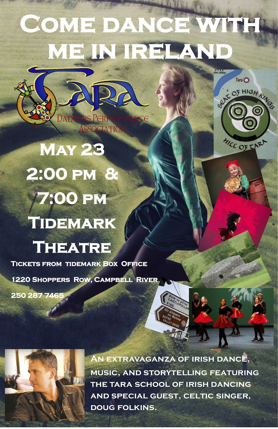 Come Dance With Me In Ireland – May 23 at Campbell River's Tidemark Theatre