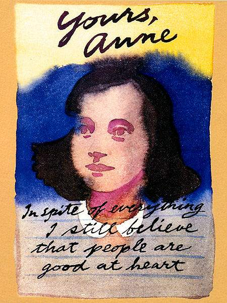 Yours, Anne.  A musical based on the diary of Anne Frank.