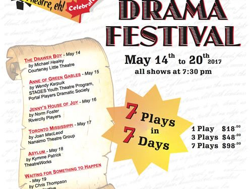 CLT Hosts North Island Zone Theatre Festival May 14th to 20th
