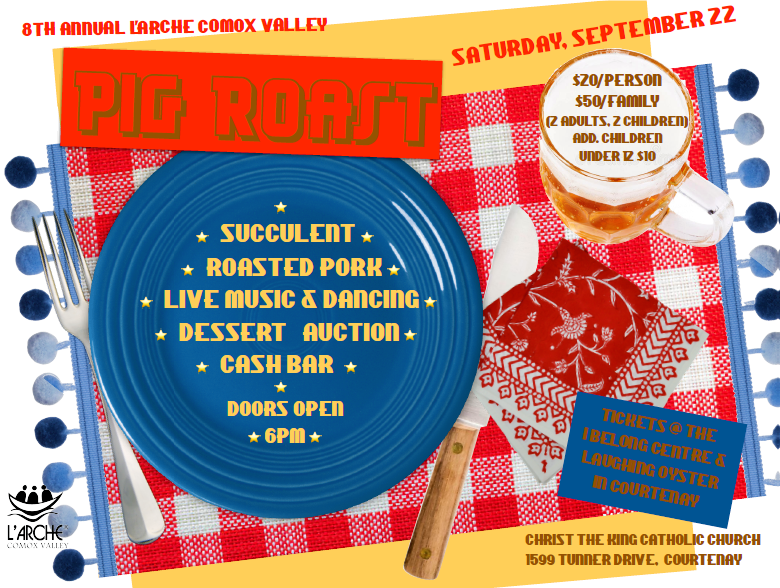 8th Annual Pig Roast – L'Arche Comox Valley