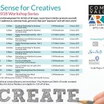 Biz Sense for Creatives – Fall 2018 edition!