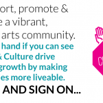 #creativitycounts and Arts & Culture MATTER in our community.