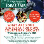 Upcoming Courtenay Official Community Plan Ideas Fair- How should Courtenay grow over the next 10 years?